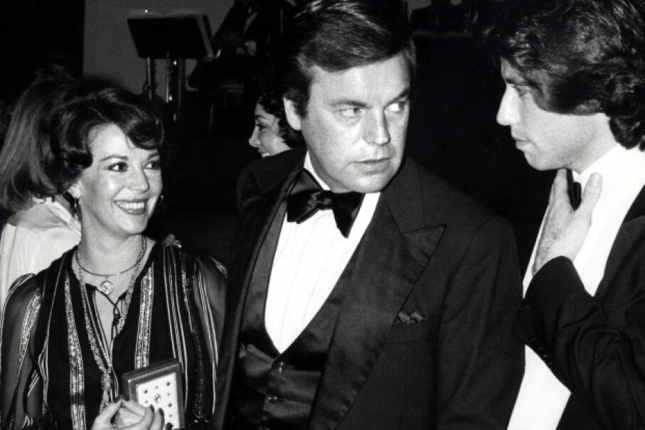 Wood, Wagner and John Travolta (!) at a 1978 tribute to Fred Astaire. Ron Galella/WireImage/Getty Images