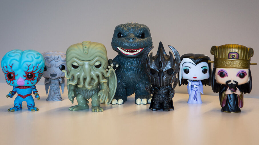 Cute and monstrous Funko figures