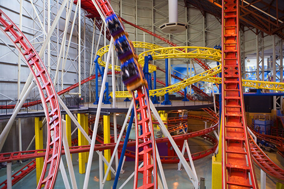 The Mindbender has been accident-free since the 1986 tragedy. Andrew Bain/Lonely Planet Images/Getty Images