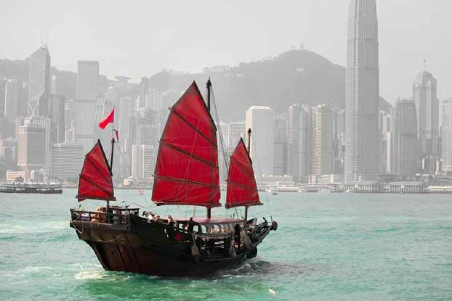 We often think of Hong Kong as an exporter, but it also owns 1.2 percent of the U.S. national debt. ©iStockphoto/Thinkstock