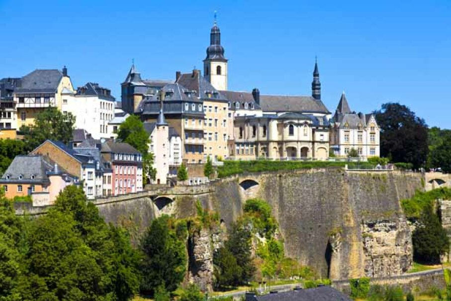 Tiny, picturesque Luxembourg is also a big buyer of U.S. debt, but custodial bias probably distorts this ranking. iStockphoto/Thinkstock