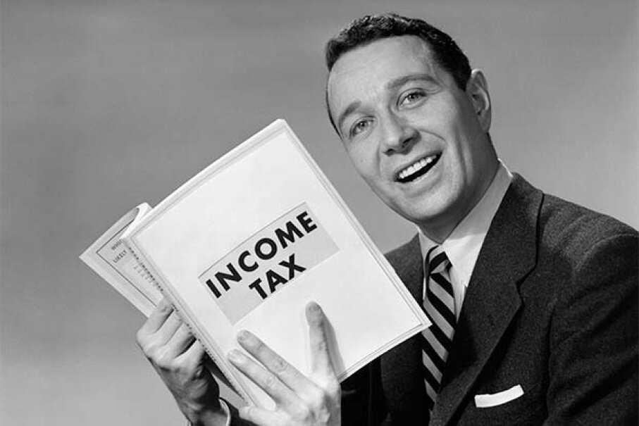 Learning about taxes is fun! Or at least educational. Fuse/Thinkstock