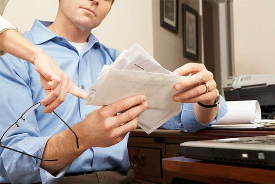 What do you really know about your tax preparer when you're trusting him with a lot of sensitive information? MartinCParker/iStock/Thinkstock