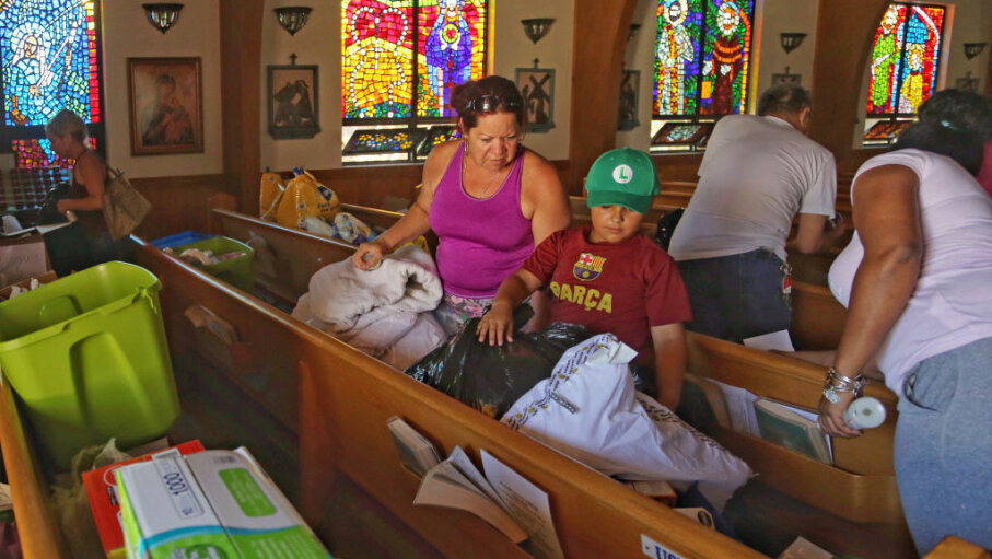 donations, Hurricane Irma