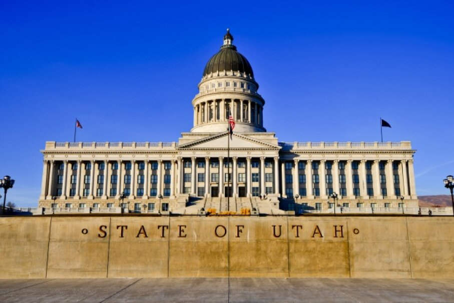 Turns out the old Utah State Capitol was thought to be vulnerable to a moderate earthquake, so it snagged its own base isolation system, which was completed in 2007. iStockphoto/Thinkstock