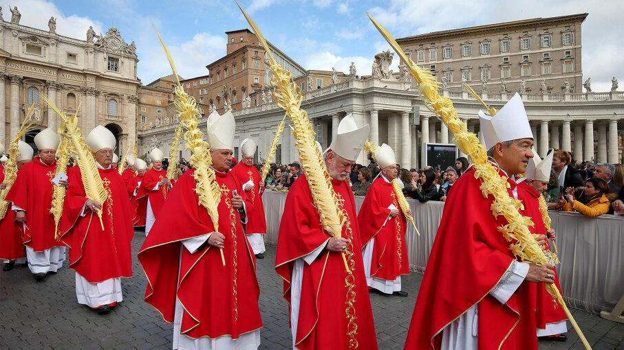 Vatican Palm Sunday