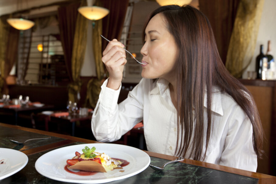 They say that to be truly fulfilled in life, you should turn what you love to do into a career. It's possible to do just that with eating. Geri Lavrov/Getty Images