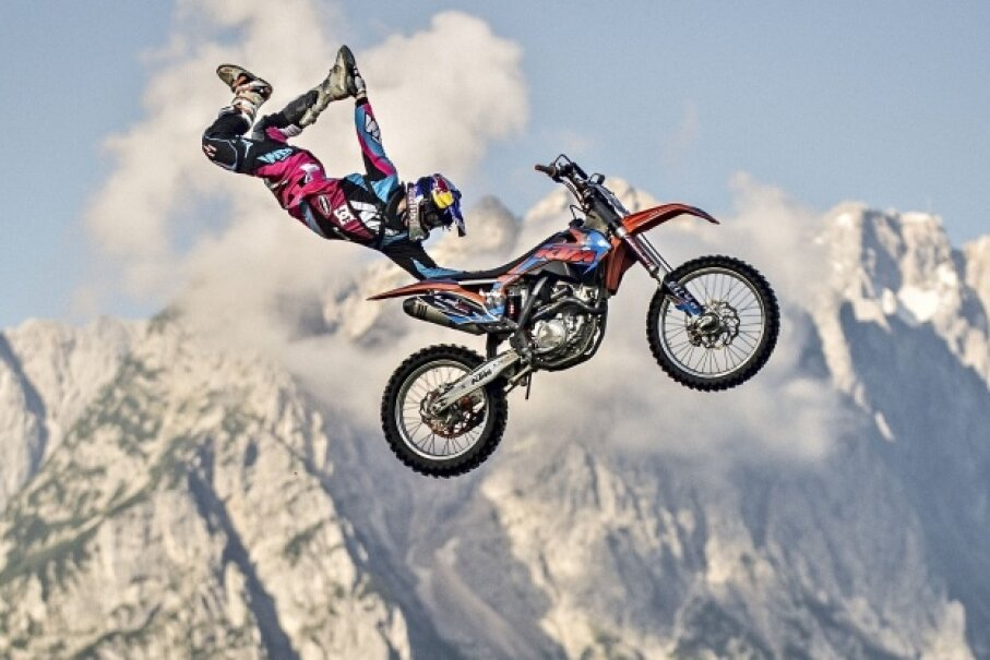 Does doing acrobatics on an airborne motorcycle near the highest mountain in Germany sound like your kind of activity? Well this is the perfect list for you! Sebastian Marko/Getty Images Sport/Red Bull via Getty Images