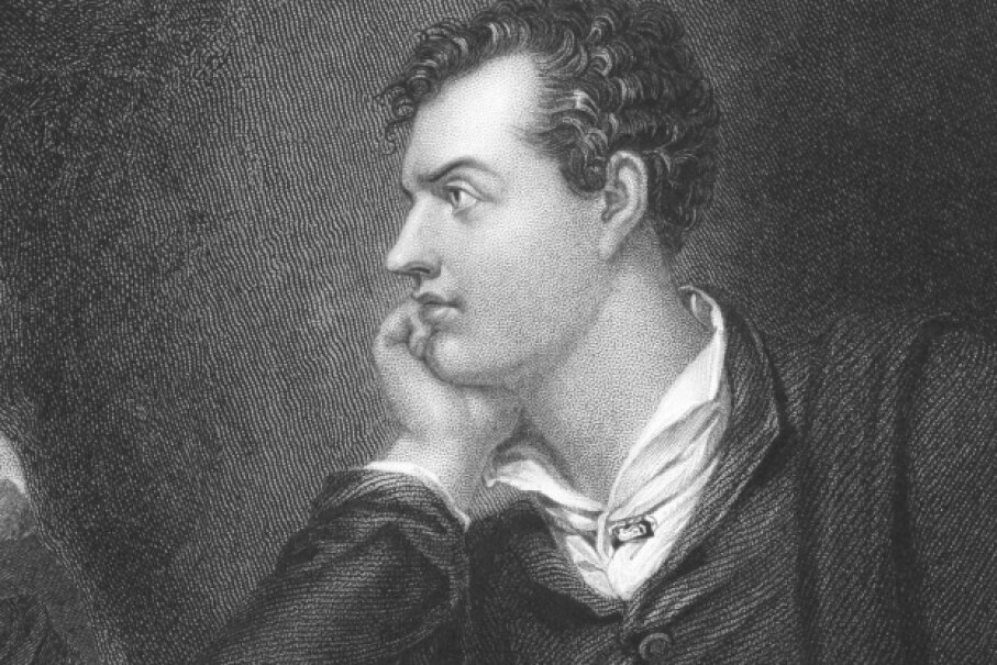 Lord Byron maintained his poet's look with a strict diet -- but it was nutritionally really lacking. ©iStock/Thinkstock