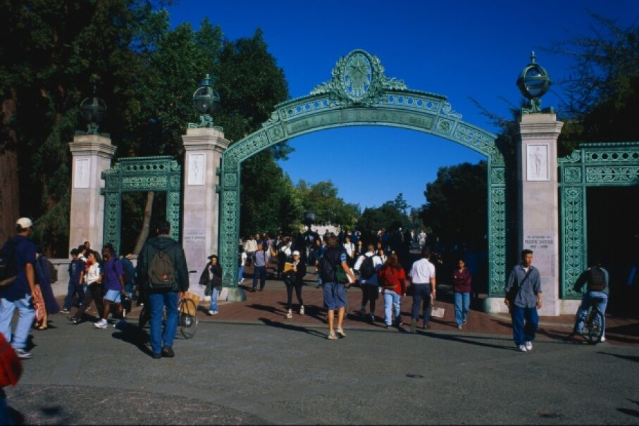 A California guy through and through, Howard P. Grant was the first black graduate of UC Berkeley's College of Engineering. Pictured here is the campus's iconic Sather Gate in the late 20th century. © Mark E. Gibson/Corbis