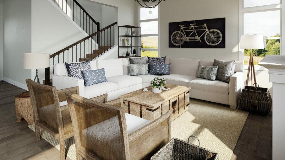 living room decoration pics.htm 6 tips for creating a cozy  charming farmhouse look howstuffworks  charming farmhouse look