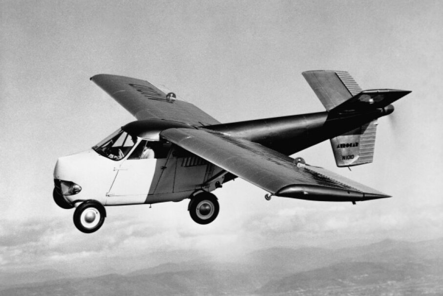 Look, would you even want to share airspace with the crazy drivers zooming around on the roads today? Right. So let's stop focusing so much on a future filled with flying cars. © Corbis