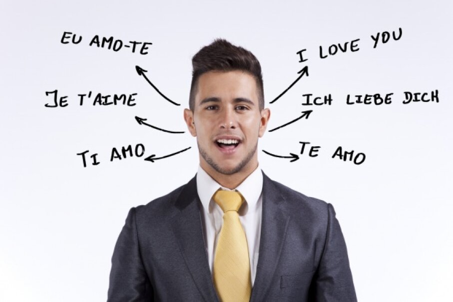 This gentleman clearly has no need for a universal translator. hjalmeida/iStock/Thinkstock