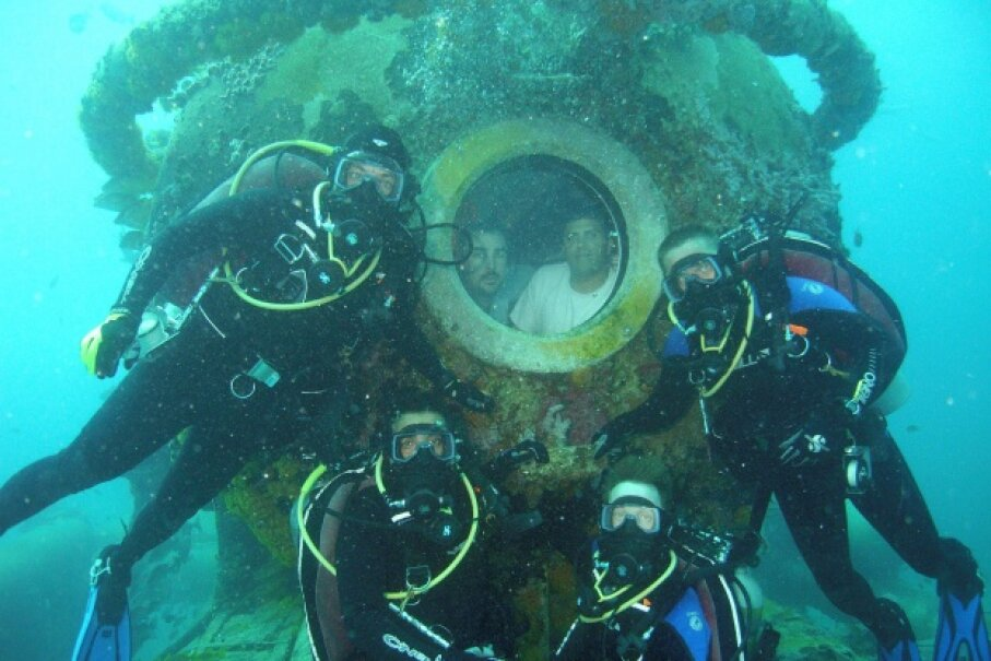 NEEMO, the NASA Extreme Environment Mission Operations project, entails sending people to live and work at the underwater lab Aquarius for several weeks at a time. Aquarius is located near Key Largo, Fla. Image courtesy NASA