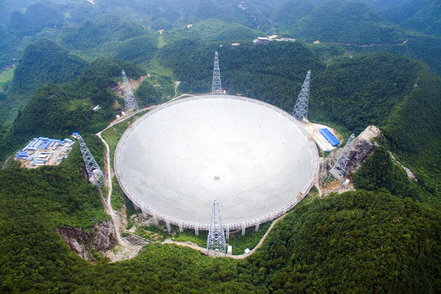 Five-hundred-meter Aperture Spherical Telescope (FAST)