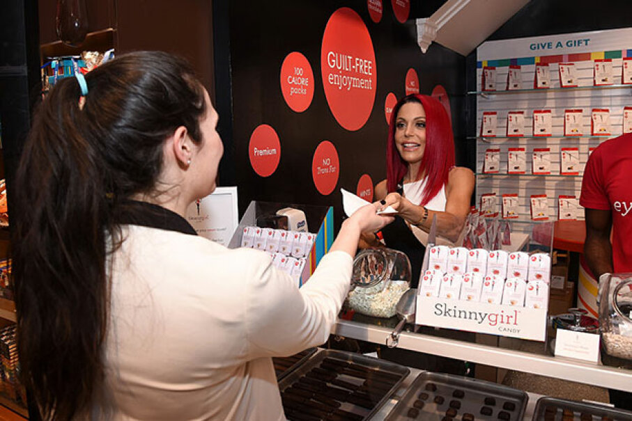 "Bethenny Frankel from ""The Real Housewives of New York"" launches Skinnygirl Candy at Dylan's Candy Bar Union Square on Jan. 26, 2016. Frankel's one of the few reality show stars who's also a very successful businesswoman. Dimitrios Kambouris/Getty Images for Skinnygirl Candy"