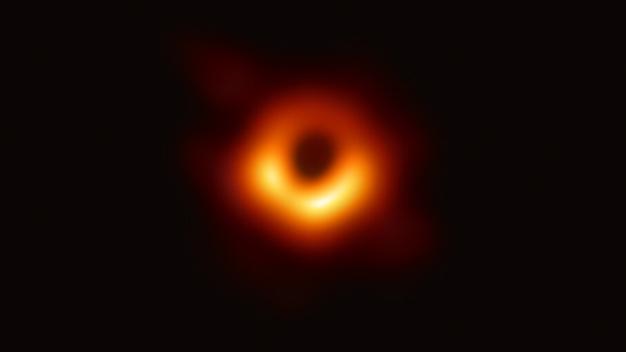 First image of black hole ever