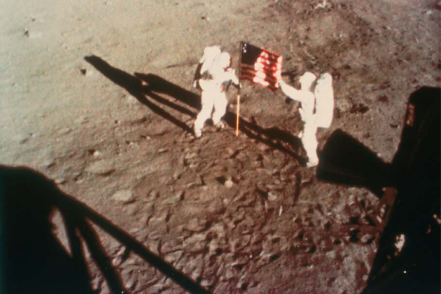 Though it's proven fact that humans have walked on the moon, conspiracy theorists claim it was staged, and perhaps at Area 51. Print Collector/Getty Images