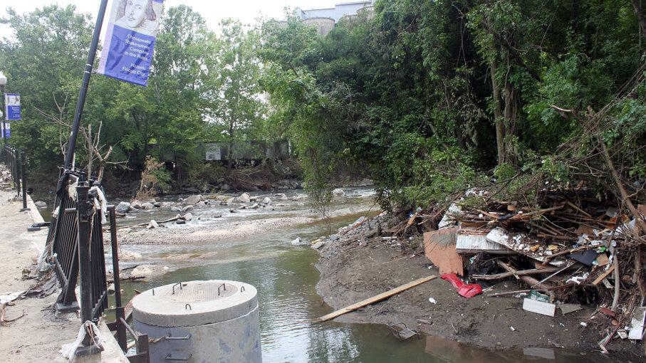 flash flood Ellicott City