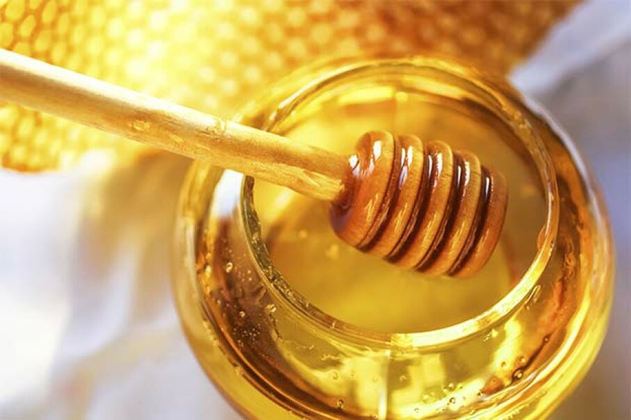 Honey is a natural antibiotic -- yet bees are often injecteted with antibiotics in commercial hives. See our pictures of healthiest foods. rvbox/iStock/Thinkstock