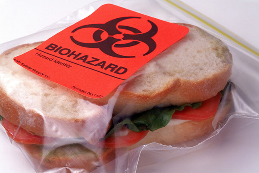 Opportunities for food poisoning lurk everywhere. Smneedham/Photolibrary/Getty Images