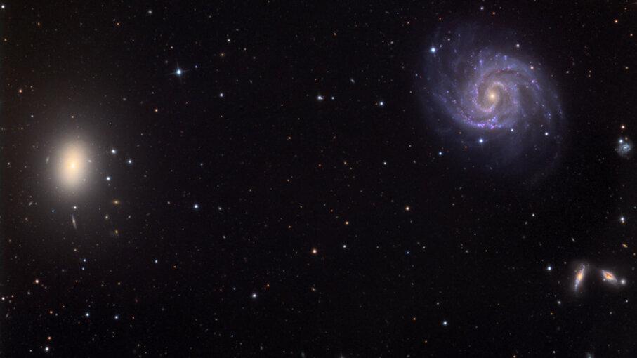 NGC1052, NGC1048, NGC1042