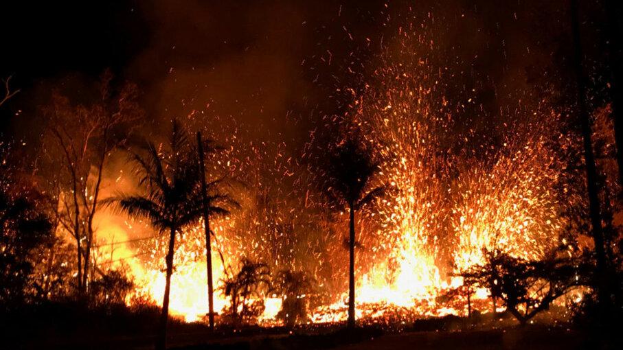 lava, Kilauea volcano