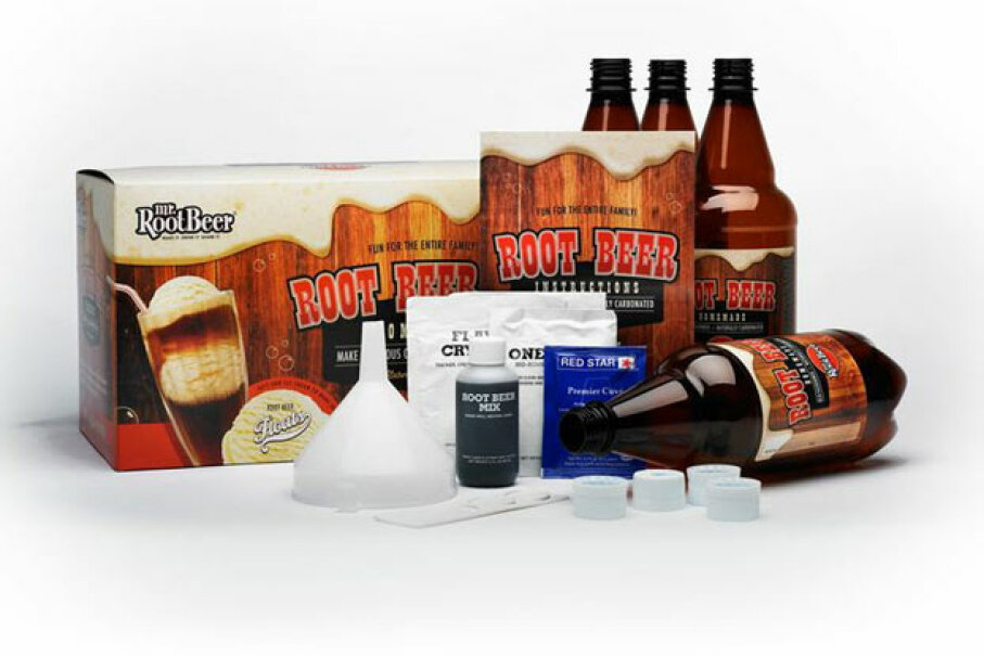 Science can also be mighty tasty with this root beer kit that leads you through the process of making root beer and the chemistry behind it. Steve Spangler Science
