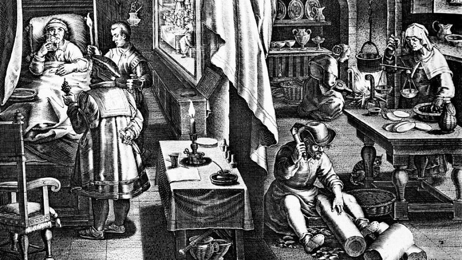 doctors curing syphilis 16th century