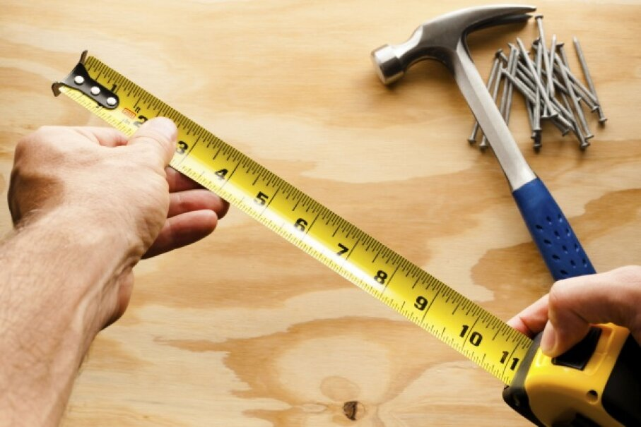 Taking accurate measurements while working on a project is vital to a successful result. ©iStockphoto/Thinkstock