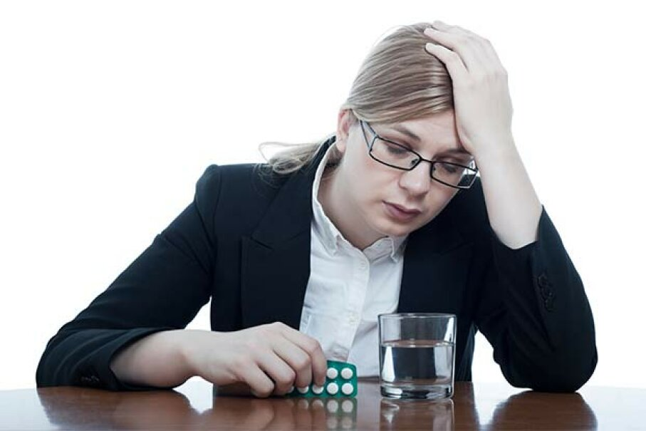 Acetaminophen is a big no-no for a hangover; try aspirin or ibuprofen instead. Jan Mika/iStock/Thinkstock