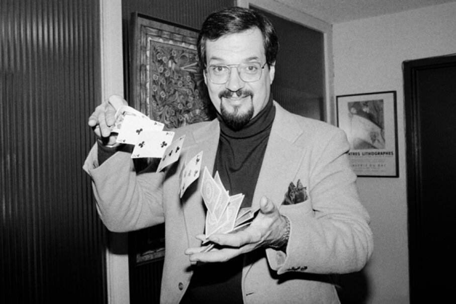 Harry Blackstone, Jr., pictured here in 1980, was the son of famous stage magician The Great Blackstone. © Bettmann/Corbis