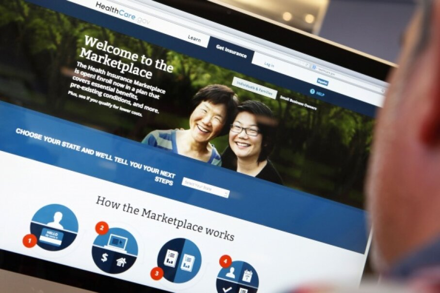The federal government's portal logged several million visitors in its first week. But due to site problems, only a tiny fraction were able to enroll in a plan under the Affordable Care Act in the first several days the site was live. © MIKE SEGAR/Reuters/Corbis