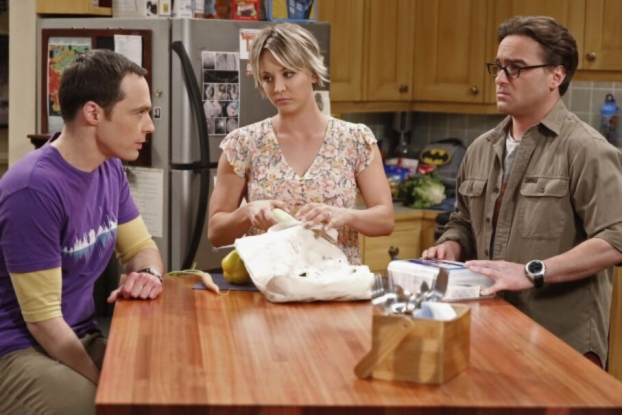 "The three leads of ""The Big Bang Theory,"" TV's No. 1 comedy, have pretty explosive salaries.  Monty Brinton/CBS via Getty Images"