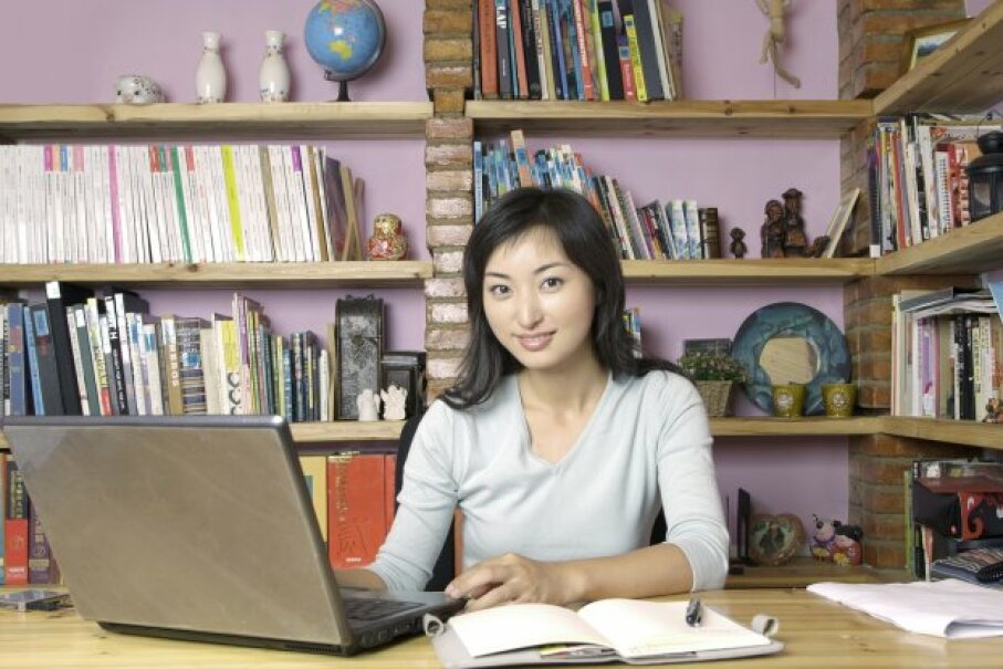 Today, it's easy to take a deduction on your home office. Top Photo Group/ThinkStock