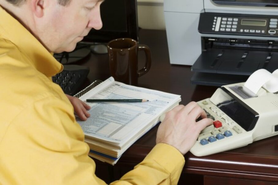 Once you've done all this work, don't forget to include the deduction on your return! tab1962/iStockphoto/ThinkStock