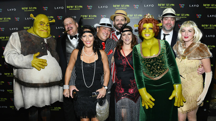 Heidi Klum, guests, Halloween party