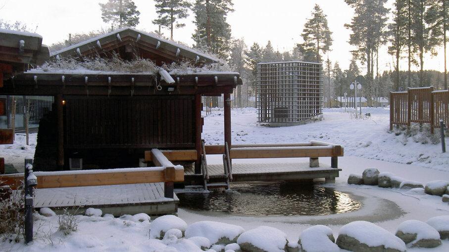 sauna cold plunge