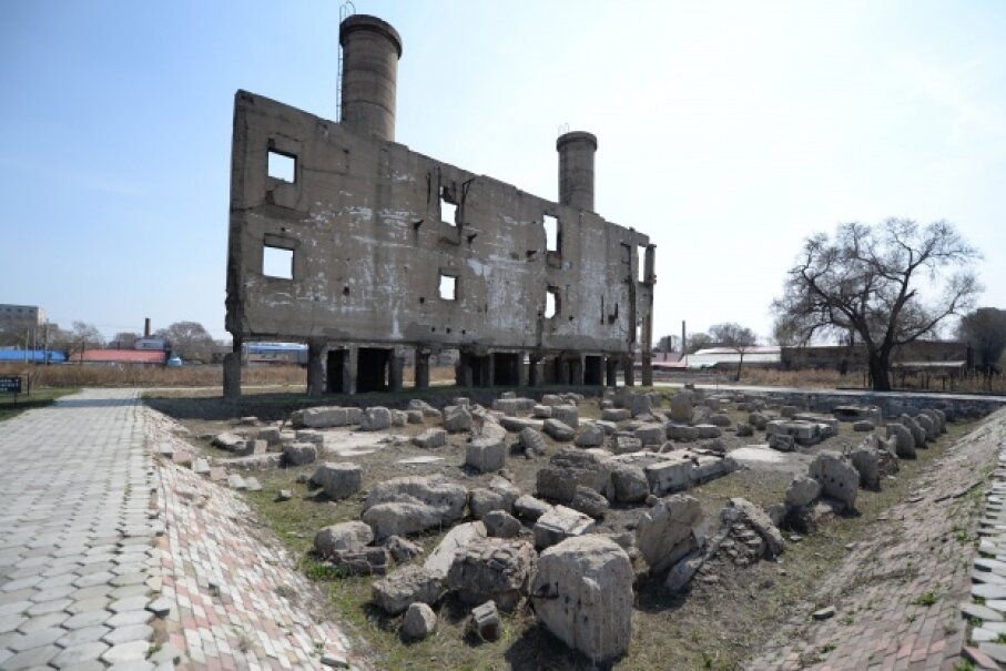 Remnants of the Unit 731 installation still stand in China's Heilongjiang Province. © Wang Kai/Xinhua Press/Corbis