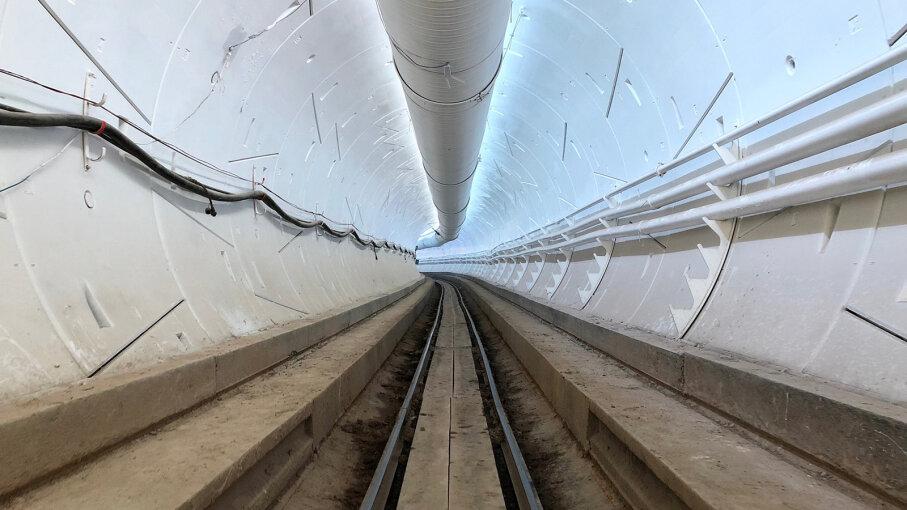 hyperloop tunnel