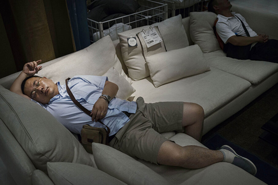 Shopping? What shopping? IKEA is a store that sells things? Kevin Frayer/Getty Images