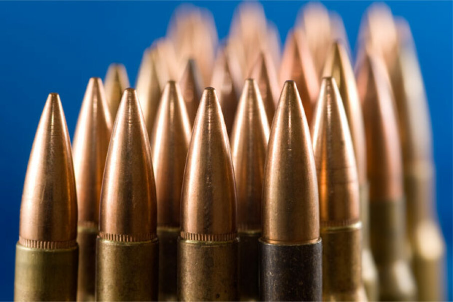 There's no shortage of history on firearms themselves, but what about the projectiles they fire at such breakneck speeds? See more gun pictures. iStockphoto/Thinkstock
