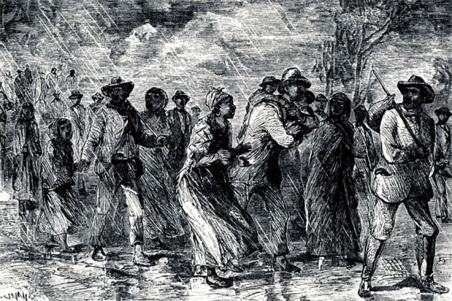 Ellen and William Craft didn't seek their freedom via the Underground Railroad pictured here. Nope, their daring escape started with a Savannah-bound train. Photos.com/Thinkstock