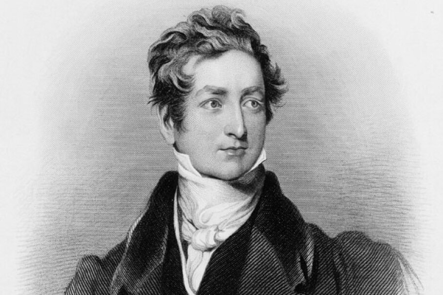 M'Naghten believed that Prime Minister Sir Robert Peel, pictured in this engraving, was conspiring against him.  © Hulton-Deutsch Collection/CORBIS