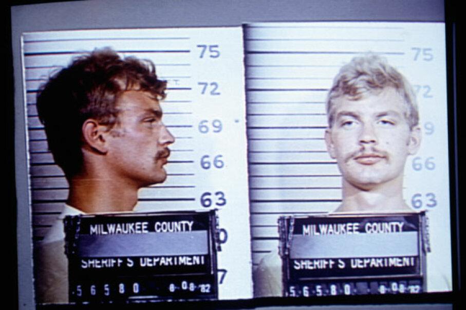 Dahmer's July 23, 1991 mug shots. © Ralf-Finn Hestoft/CORBIS