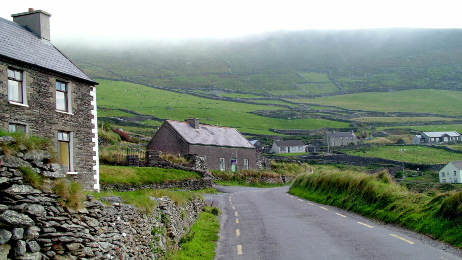 village, Dingle Peninsula, County Kerry Ireland
