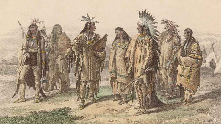 iroquois, sioux, dakota indian