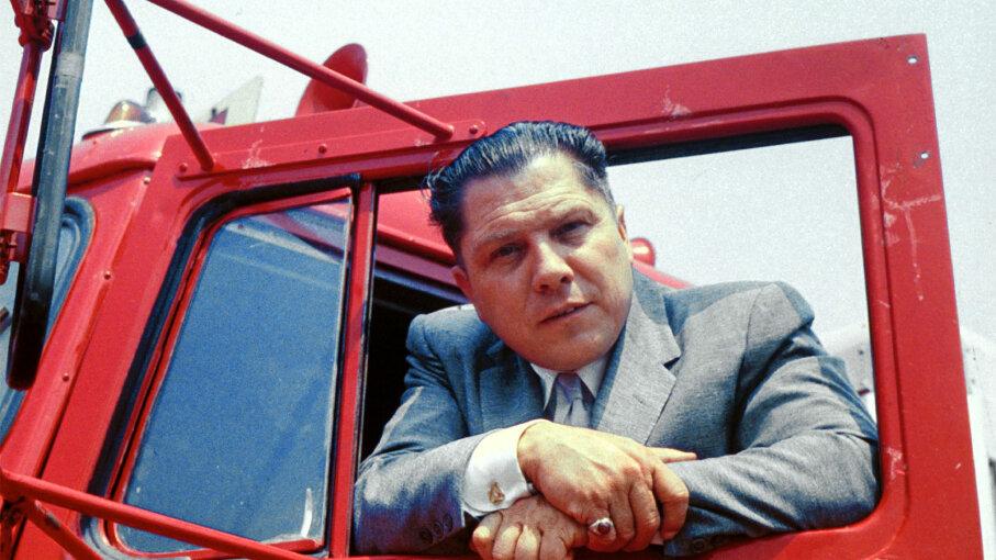 Jimmy Hoffa, red truck