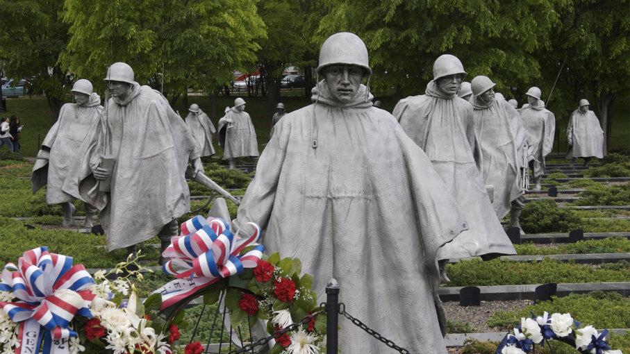 Korean war, memorial