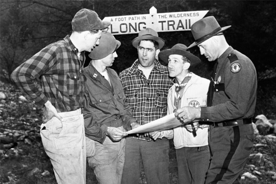 National Guard members and even Boy Scouts searched for Paula Welden in 1947. © Corbis